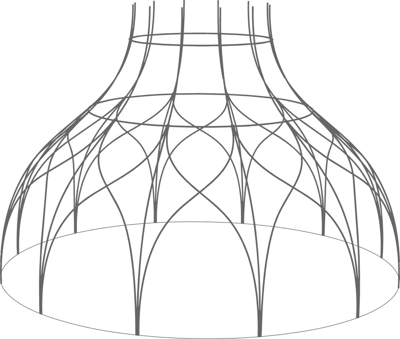 3D Modell der Weidenkirche